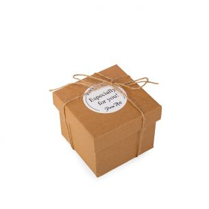 """BOX 3 Craft със стикер """"Especially for you""""  + канап"""