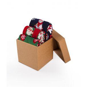 BOX 3 Colour Cotton CHRISTMAS