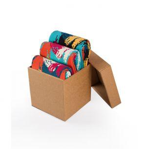 BOX 3 Colour Cotton BRUSHES