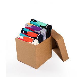 BOX 4 Colour Cotton Sneaker BRUSHES