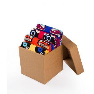 BOX 4 Colour Cotton Sneaker RETRO