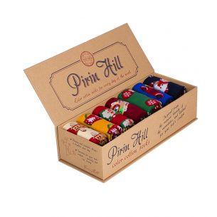 LUXURY BOX 7 Colour Cotton CHRISTMAS