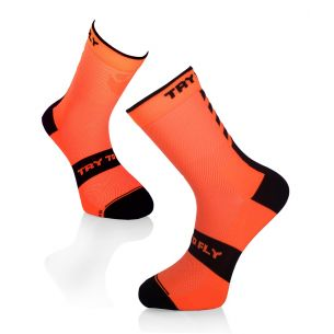 CYCLING SOCKS Fluo Orange