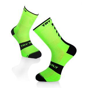 CYCLING SOCKS Fluo Green