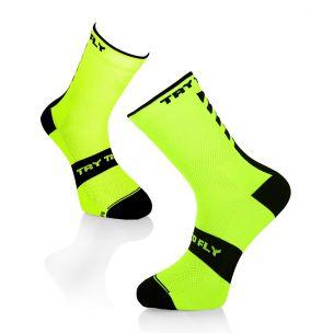 CYCLING SOCKS Fluo Yellow