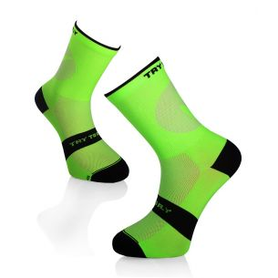 CYCLING LIGHT SOCKS Fluo Green