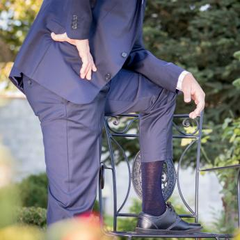 Как да изберете правилните чорапи за официален костюм